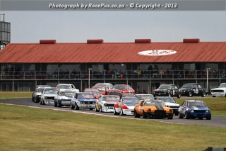 Marlboro Crane Hire Historic Saloon Cars ABCDE and Classic ThoroughBred - 2013-04-13