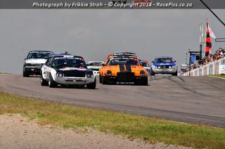 Marlboro Crane Hire Pre-77 Historic Saloon Cars ABCDE - 2014-04-12