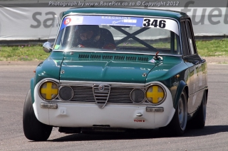 Alfa Fiat East Rand Alfa Trofeo & Team Cobra - Photograph by Deon Venter