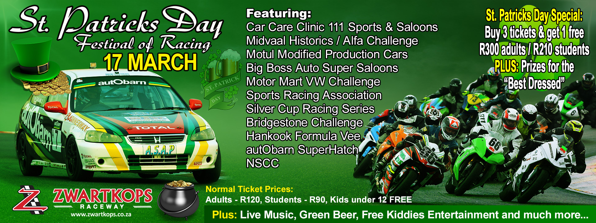 St. Patrick's Day Festival of Racing - 17 March 2018
