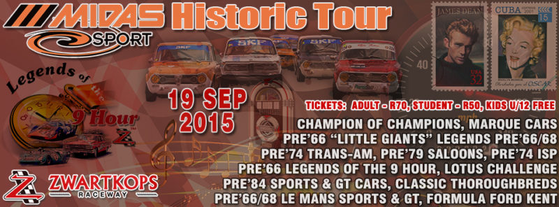 Midas Historic Tour - 19 September 2015