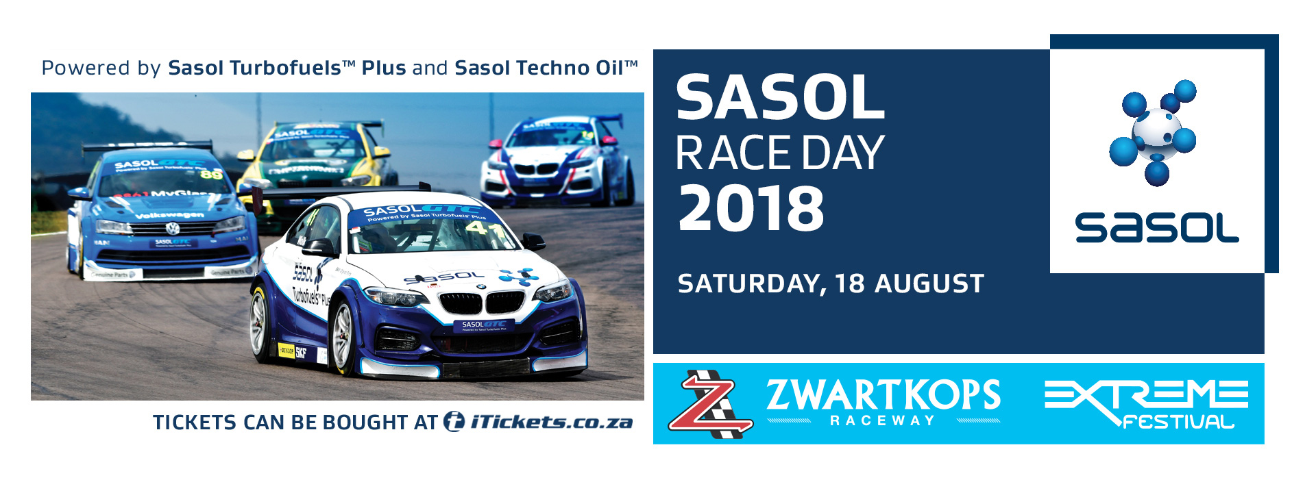 Entries now open for SASOL Race Day on 18 August 2018