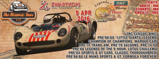 Entries now open for Historic Tour on 9 April 2016