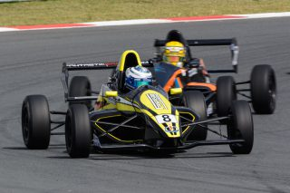 Stuart White (Fantastic Ford) should be a front runner in Saturday's Investchen Formula 1600 races. Picture: Dave Ledbitter