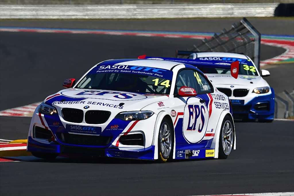 Johan Fourie (EPS Couriers BMW GTC) could be a front runner in Saturday's Sasol Global Touring car races at Zwartkops