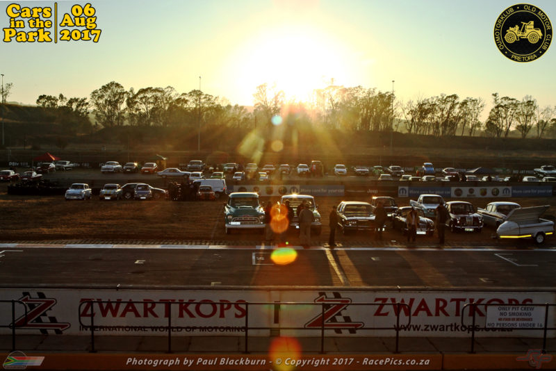 What the scene will look like from 6 am at the Zwartkops Raceway on Sunday, August 6, 2017