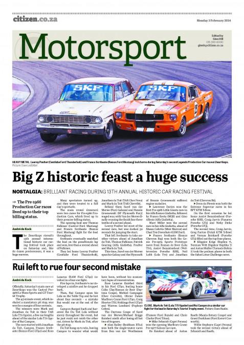 Big Z historic feast a huge success