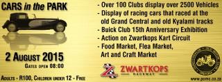 Cars in the Park - 2015 @ Zwartkops Raceway