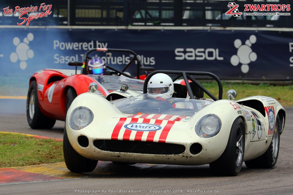 Castrol Pre 1966/68 Le Mans Sports & GT SA TT - Mark du Toit/ Jonathan du Toit (1965 Lola T70)