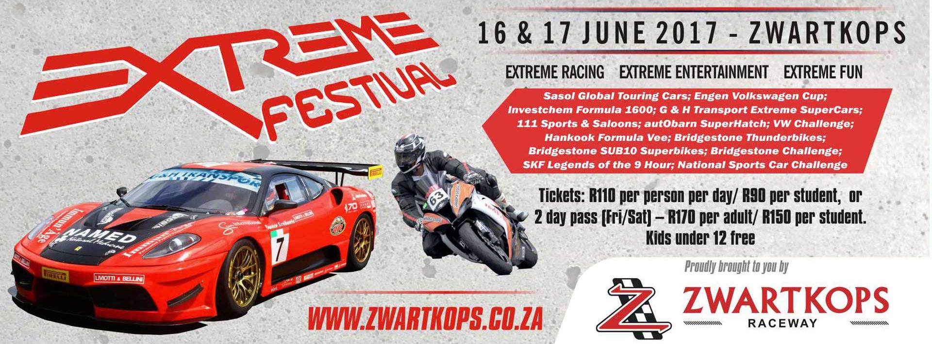 Extreme Festival - 16 & 17 June 2017