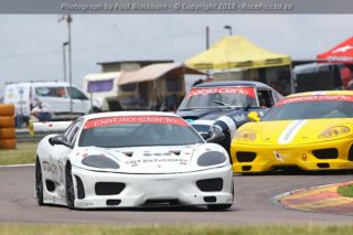 Liqui Moly GT Ferrari Challenge - Photograph by Paul Blackburn