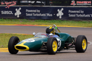 Historic Single Seaters 1950 to 1974 - Stuart Greig (1961 Lotus 22)