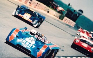 Kyalami 1998 Gary Dunkerley Chevron B19. Jonathan du Toit Chevron B8.