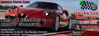 Italian Car Track Day - 2015