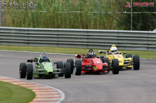 Jaco Schriks (Bean Child Rhema), Luschen Ramchander (Technical Rope Forza) and Lendl Jansen (VW Formula Vee)