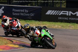 Red Square Kawasaki ZX10R Masters - Photograph by Paul Blackburn