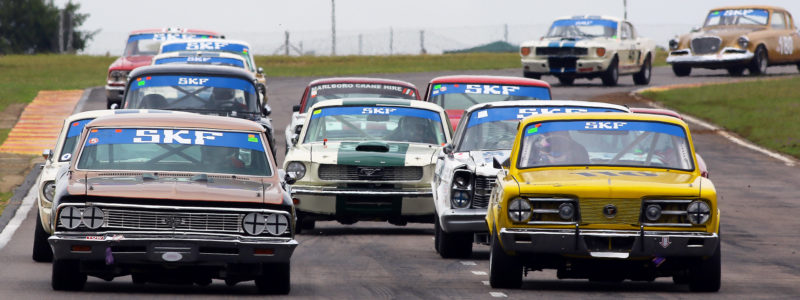 Large crowd treated to brilliant racing in Passion of Speed spectacle at Zwartkops - 2018