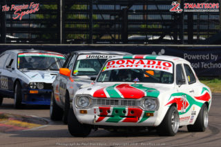 Marlboro Crane Hire Pre 1980 Historic Saloons classes A to E - Franco Denado (1974 Ford Escort)