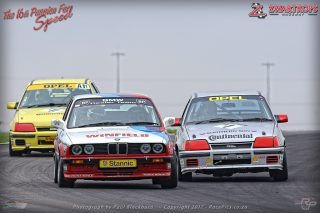 Mike Briggs, George Economides and Chris Davison delivered this time warp  in the Pre-1984 Classic Production Cars