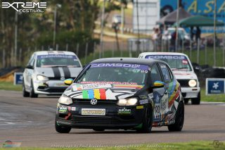 James Hurley (Starter Pack Polo) should be a victory favourite in the Comsol VW Challenge races