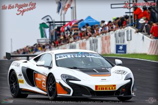 Leeroy Poulter gave the McLaren 650s its South African motorsport debut