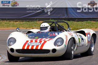 Mark du Toit (Lola T70 Spyder) should be a front-runner in the races for Pre-66 Sports Cars