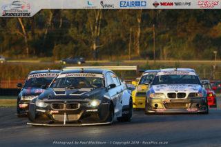 Lorenzo Gualtieri (F&B Auto BMW F30) won both Bridgestone BMW Club Racing races