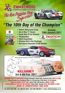 The 16th Passion for Speed on 27/28/29 January 2017