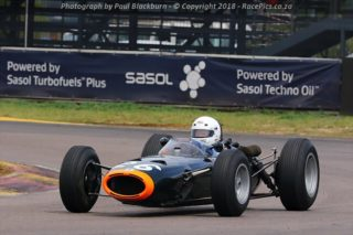Historic Single Seaters of 50's & 60's - Photograph by Paul Blackburn