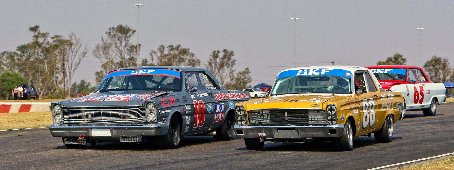 Spectacular Historic Car Racing at Zwartkops - 16 September 2017