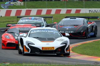 The G&H Transport Supercar races will see a varied range of very quick exotic cars take to the Zwartkops tarmac. A front runner will be Leeroy Poulter, in the Daytona McLaren 650s GT