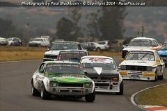 Marlboro Crane Hire Historic Saloon Cars ABCDE - 2014-10-11