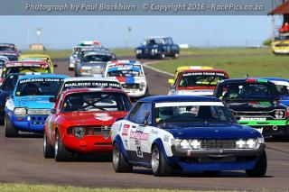 Marlboro Crane Hire Historic Saloons FGH - Marque Cars - Alfa Trofeo - 2016-01-30