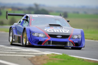 David Coetzee (ELKSA Ford Falcon) should be a driver to watch in Saturday's Mobil 1 V8 Supercar races. Picture: Eric Buijs