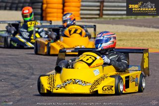 250 Superkarts - Bevan Williams - 29 July 2017