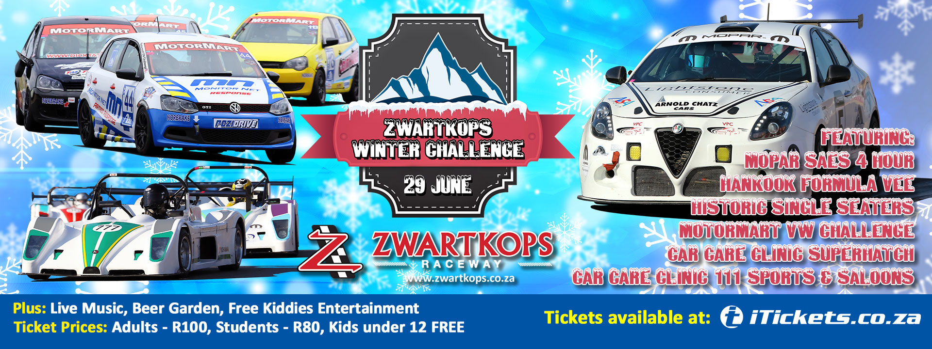 Entries now open for Zwartkops Winter Challenge race on 29 June 2019