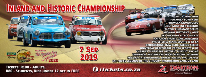 Inland and Historic Championship - 7 September 2019