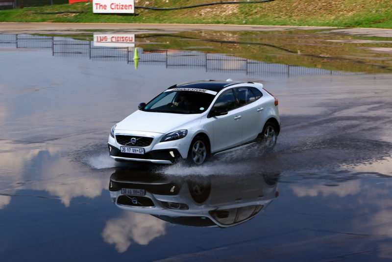 A Volvo Ultimate Skid-pan experience