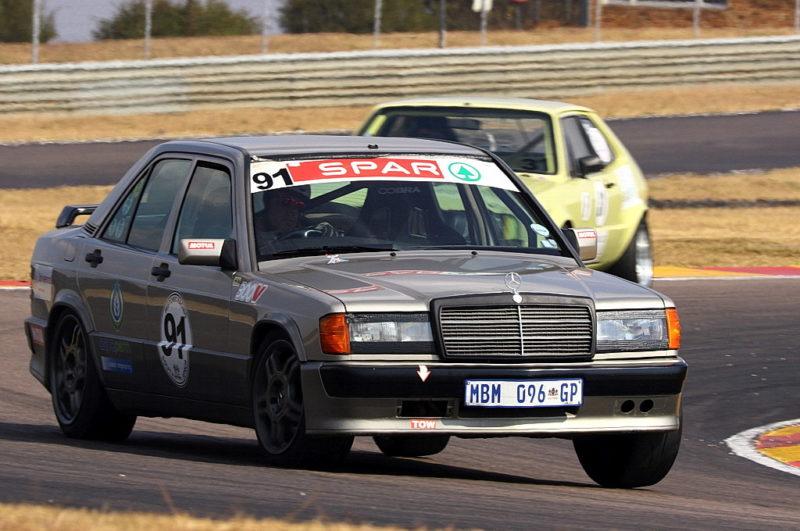 Andre Hattingh (Hattingh Motors Mercedes 190E)