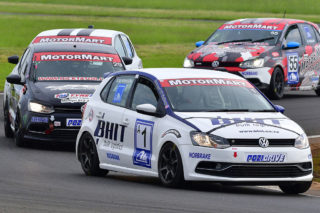 Rory Atkinson (BHIT Polo) will be the man to watch in Saturday's MotorMart VW Challenge races at Zwartkops. Picture: Paul Bedford