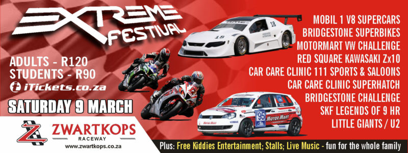 Entries now open for the Extreme Festival event on 9 March 2019