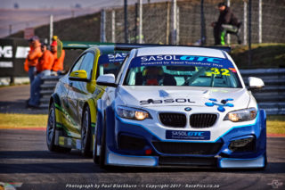 Given a bit of luck and two victories, Gennaro Bonafede (Sasol BMW) could emerge as the year's overall Sasol Global Touring Car champion
