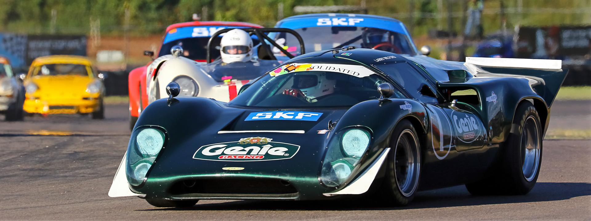 Historic car racing returns to Zwartkops Raceway - 29 September 2018