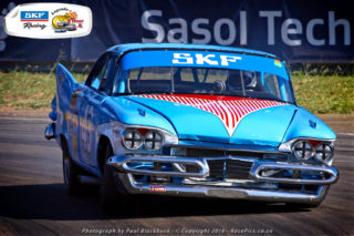 Harmen van Putten from the Netherlands will race this Plymouth Fury. Picture: RacePics.co.za