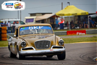 Frans van Maarschalkerwaart from Holland will drive this Studebaker Golden Hawke. Picture: RacePics.co.za