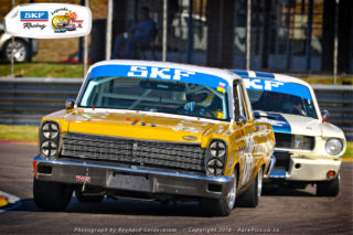Hennie Groenewald will be a podium chaser in his Mercury Comet. Picture: RacePics.co.za