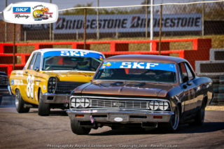 Netherlands driver Michiel Campagne will be in the Smokey Yunick Chevelle. Picture: RacePics.co.za
