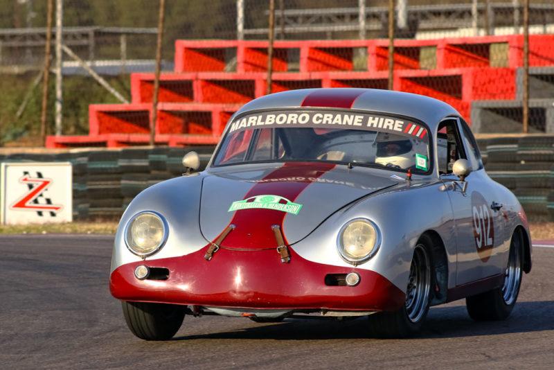 Clive Winterstein's Porsche 356 won Class C