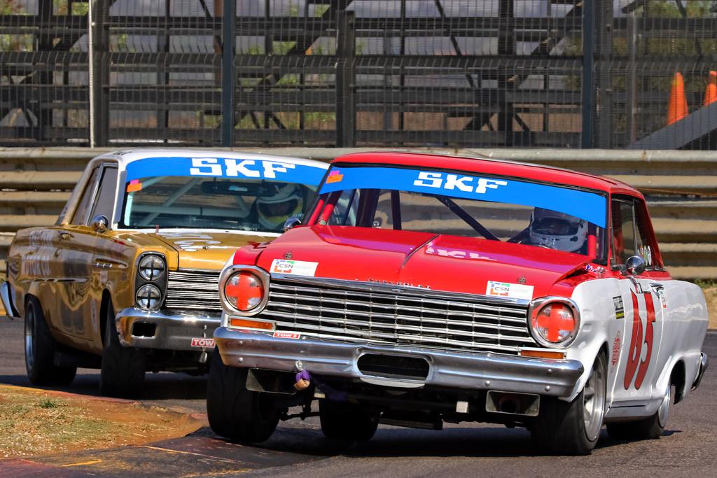 SKF Pre-1966 V8 Legend Cars
