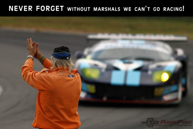 Never Forget - Without marshals we can't go racing!